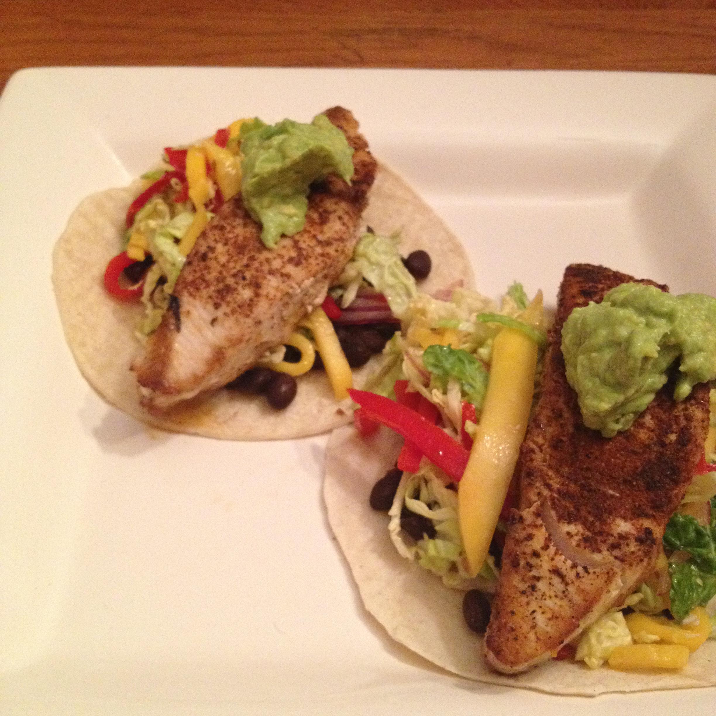 Friday fish tacos tony makes lunch for Taco bell fish tacos